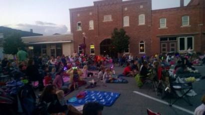 Java Block Party Movie Night