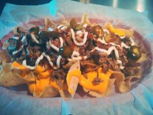 R Smoke House Pulled Pork Nachos