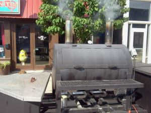 R Smoke House Smoker