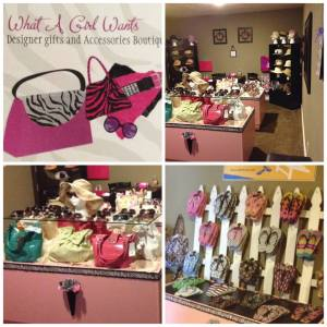 What A Girl Wants Boutique Accessories